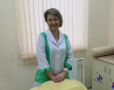 Голик Ирина Геннадьевна, специалист по массажу